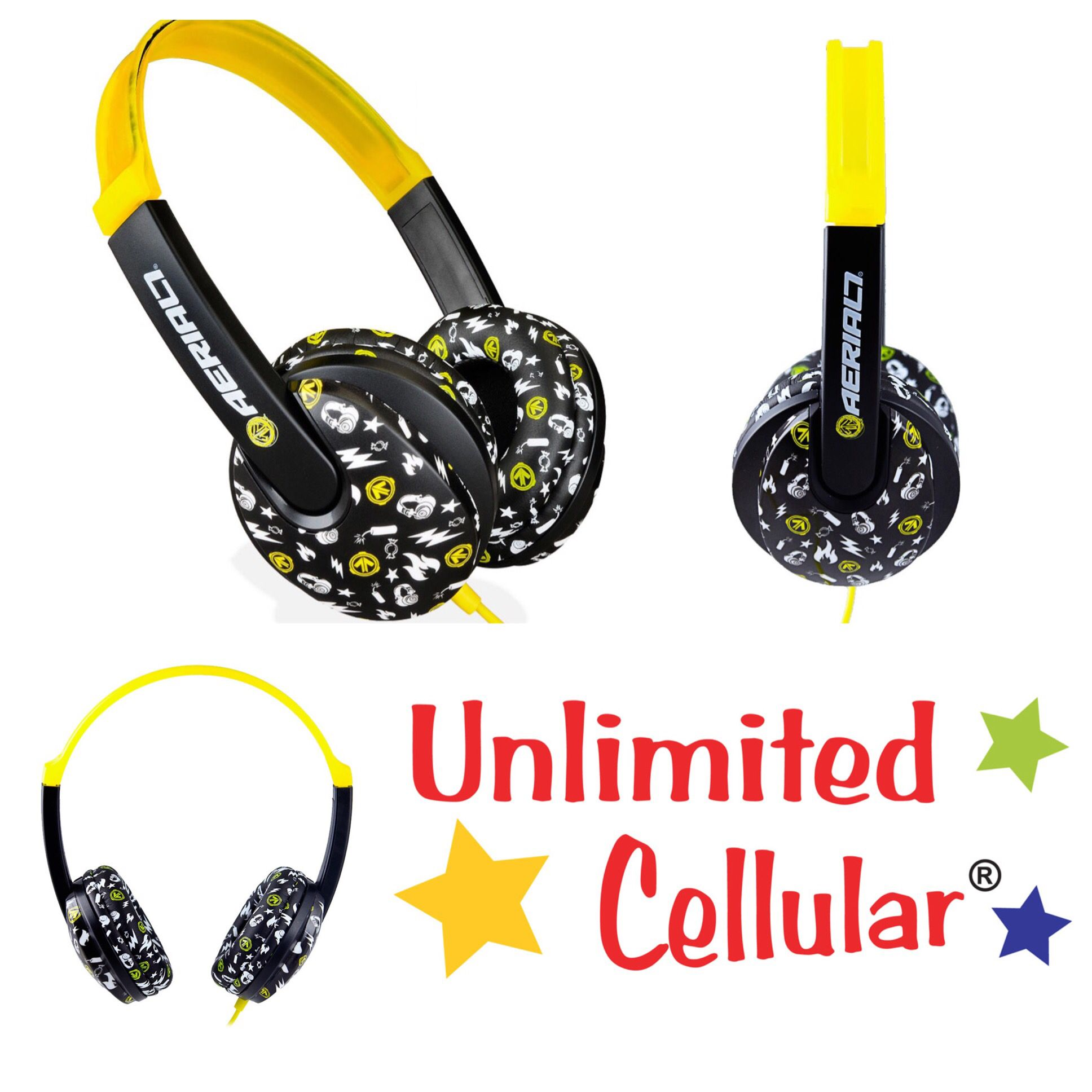Aerial7 Arcade Pakman Children\'s Headphones - $12.97 - http://deals ...