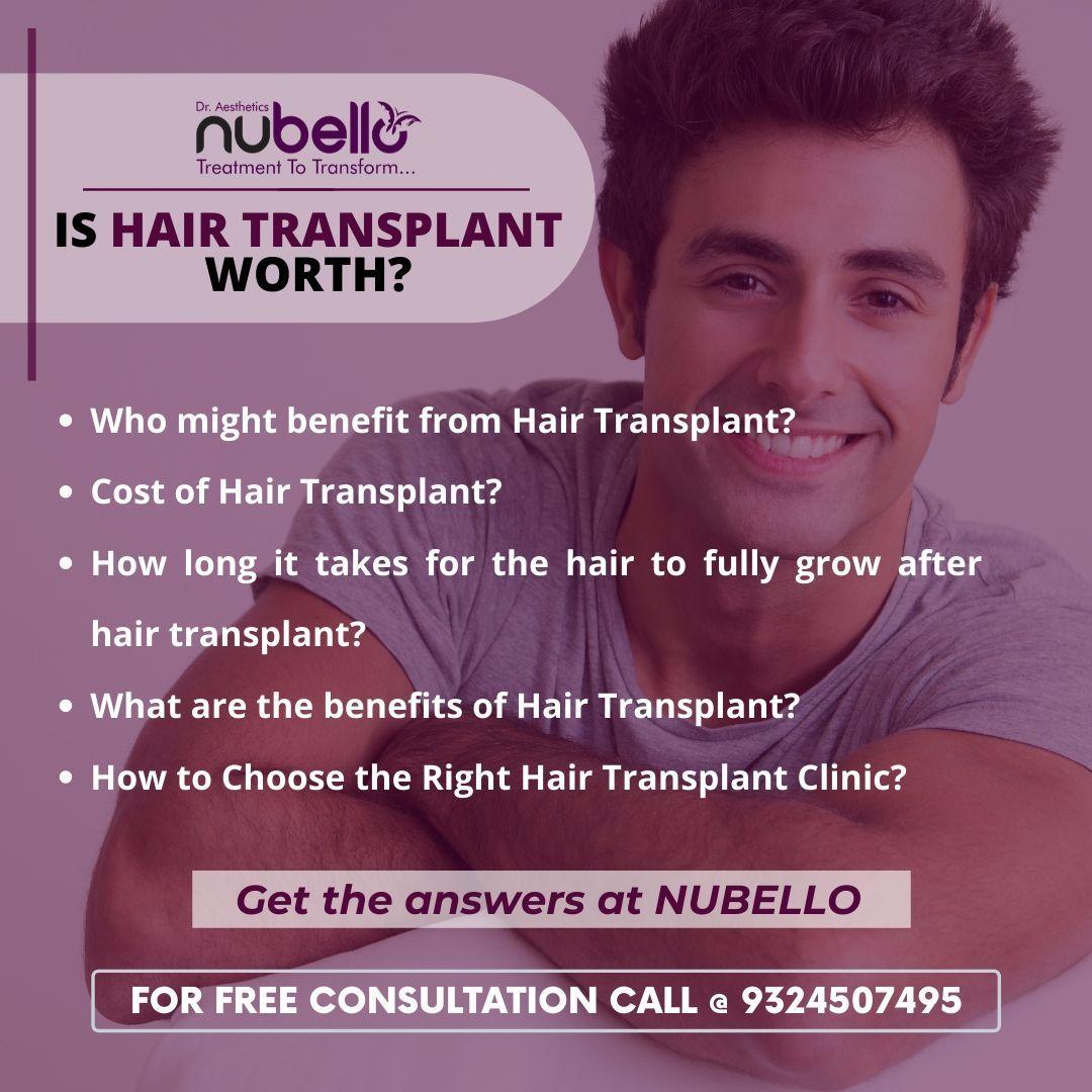 Easy EMI options, More hair clinics in and around Mumbai