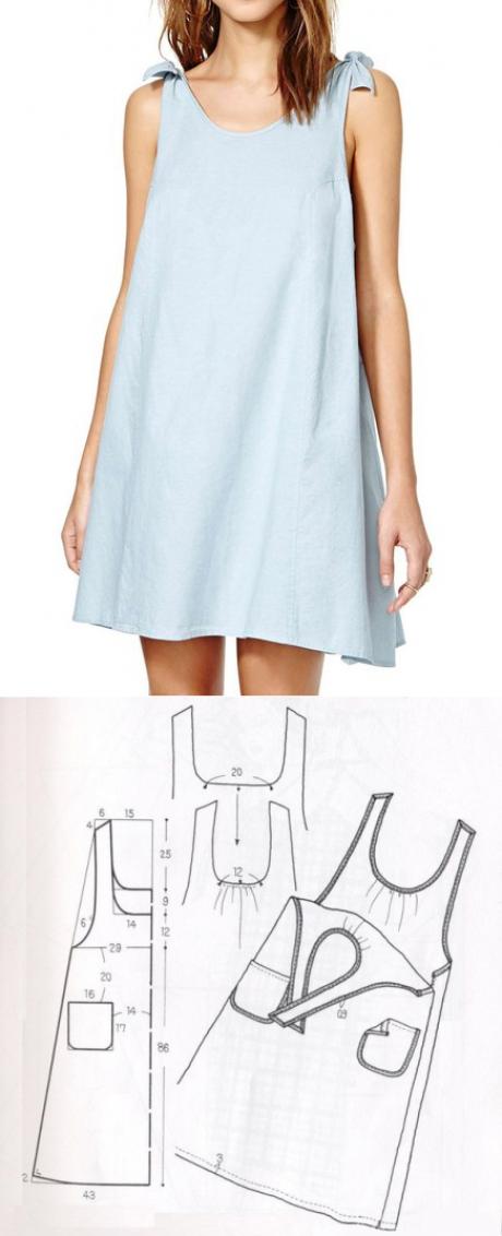 Los patrones simples | las cosas simples | VKontakte | costura ...
