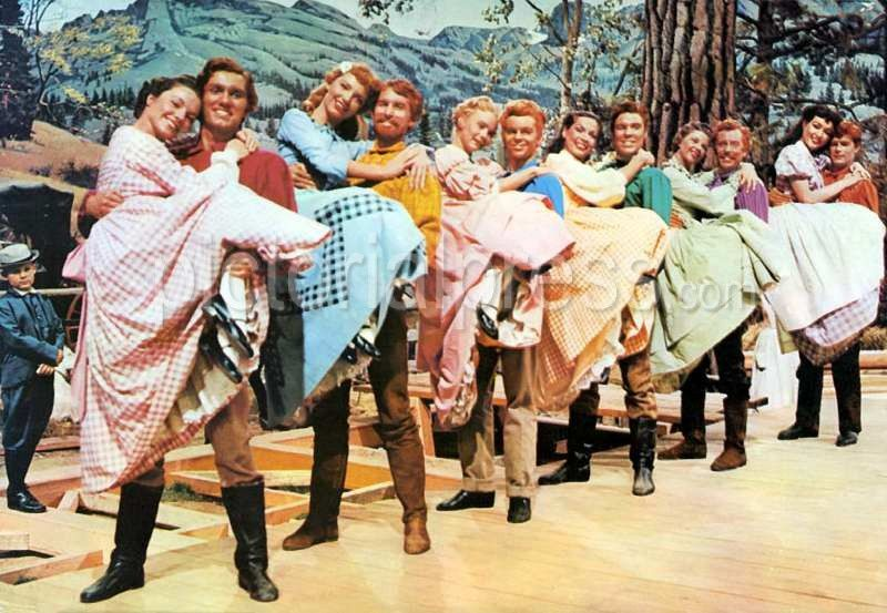 SEVEN BRIDES FOR SEVEN BROTHERS | Old movies, Musical ...