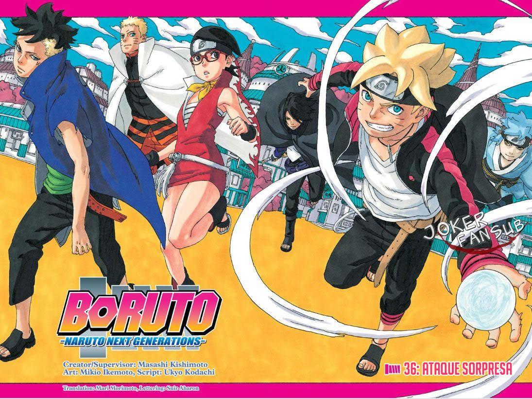 Boruto Naruto Next Generations Manga Capitulo 36 Espanol Descargar Mega Online In 2021 Boruto Boruto Naruto Next Generations Manga