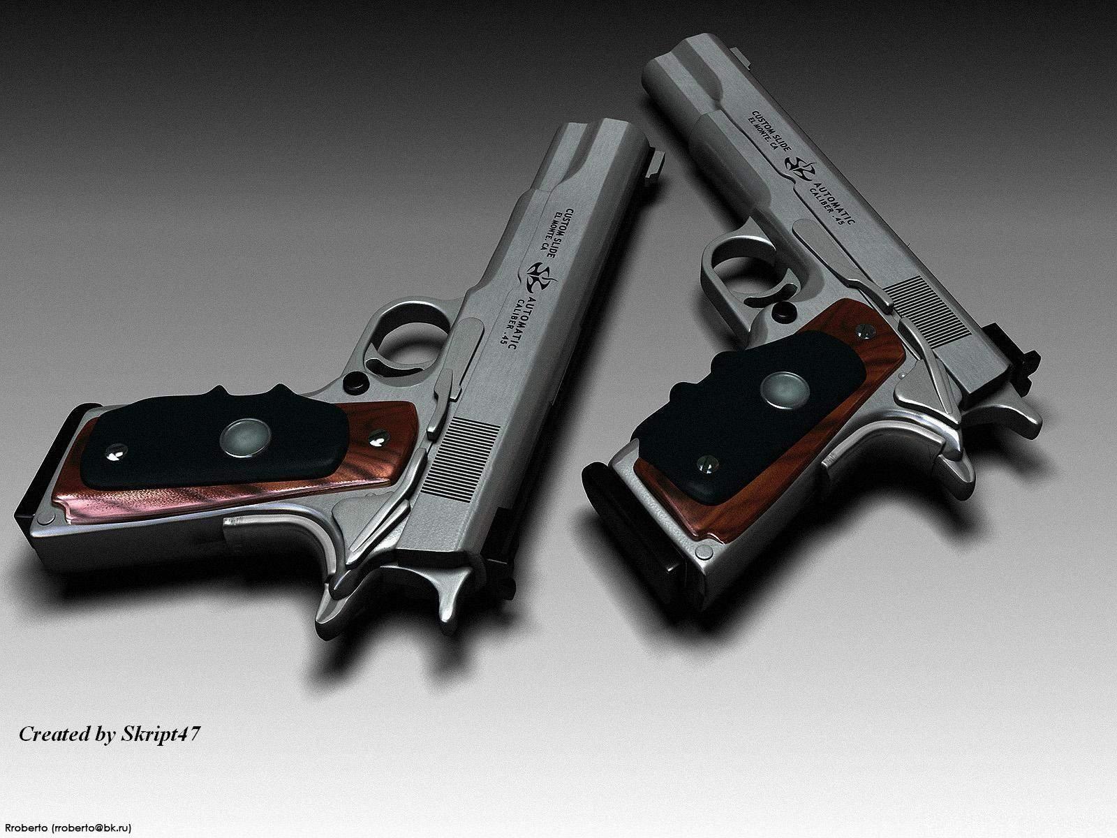 Silverballers Armas De Fuego Fuego Armas