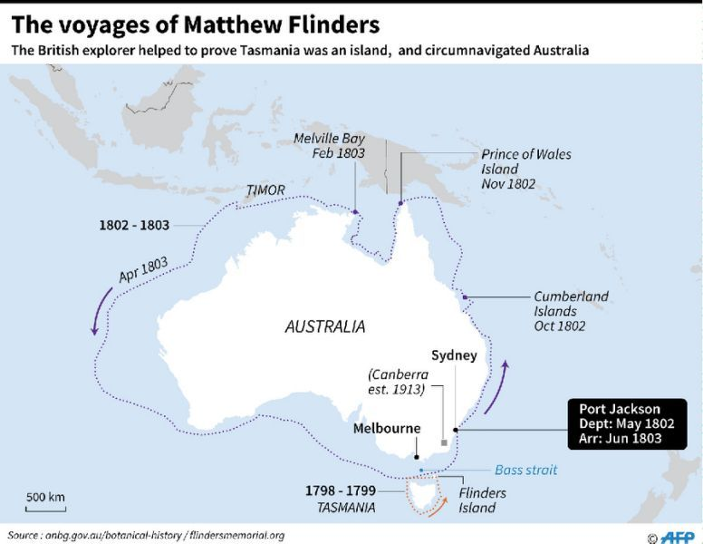 Remains found of explorer who put Australia on the map ...