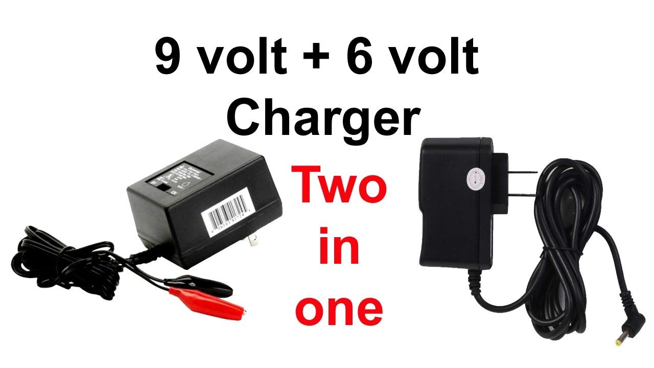 How To Make 9 Volt Charger And 6 Volt Charger Two In One Charger How To Make Dvi