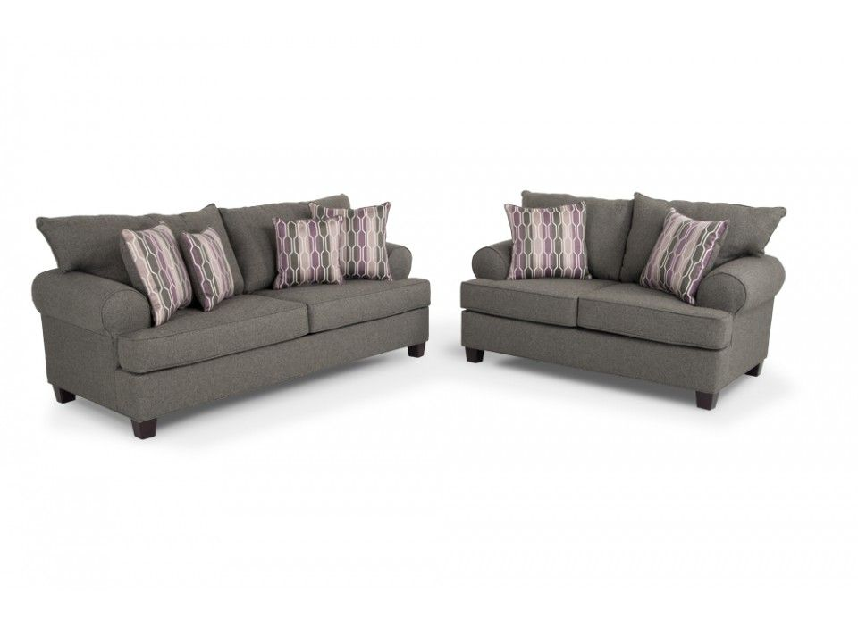 Kasey sofa loveseat living room sets living room for Bobs furniture living room sets