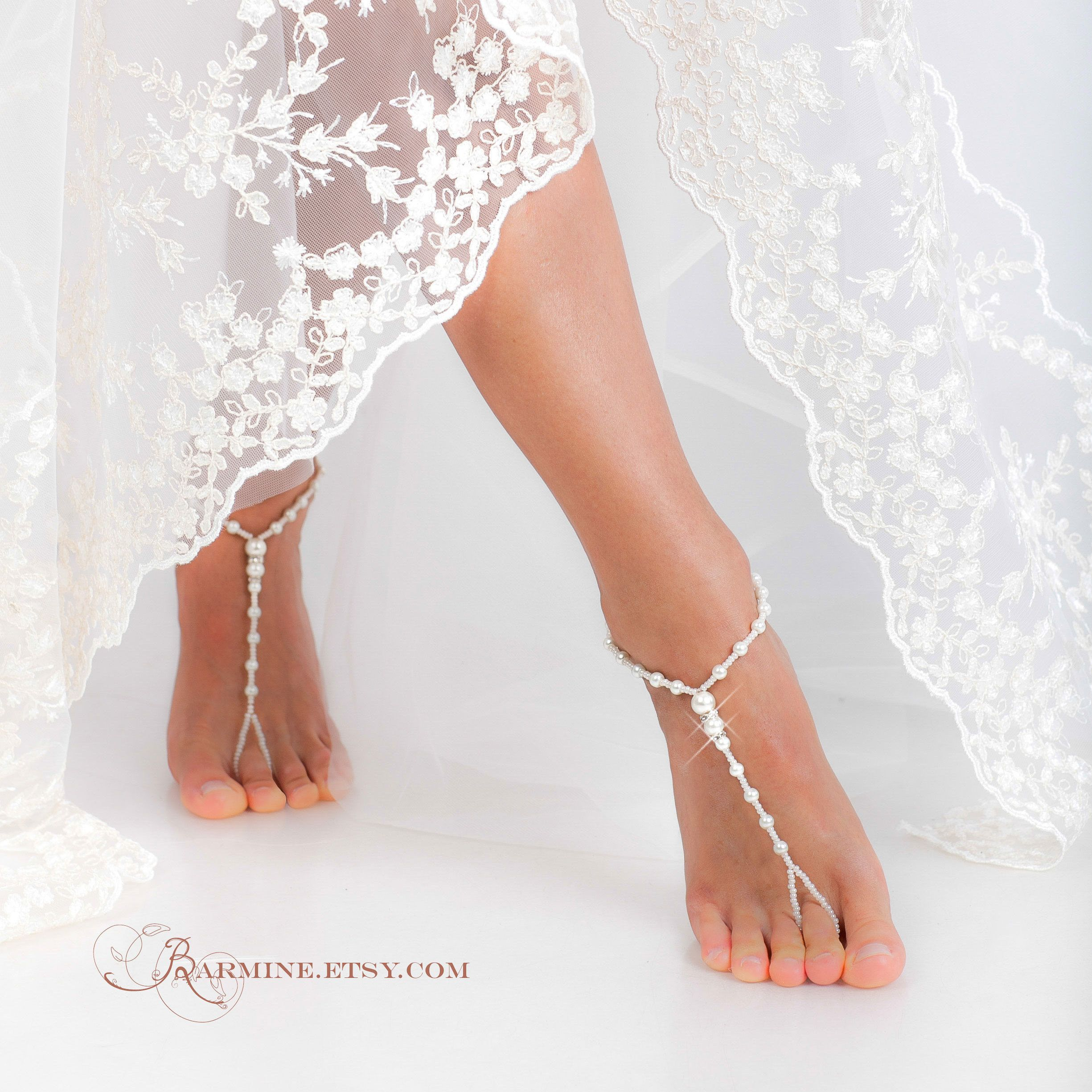 Beach wedding foot jewelry  Ium offering a discount  SALE  Pinterest  Ankle Etsy and Unique
