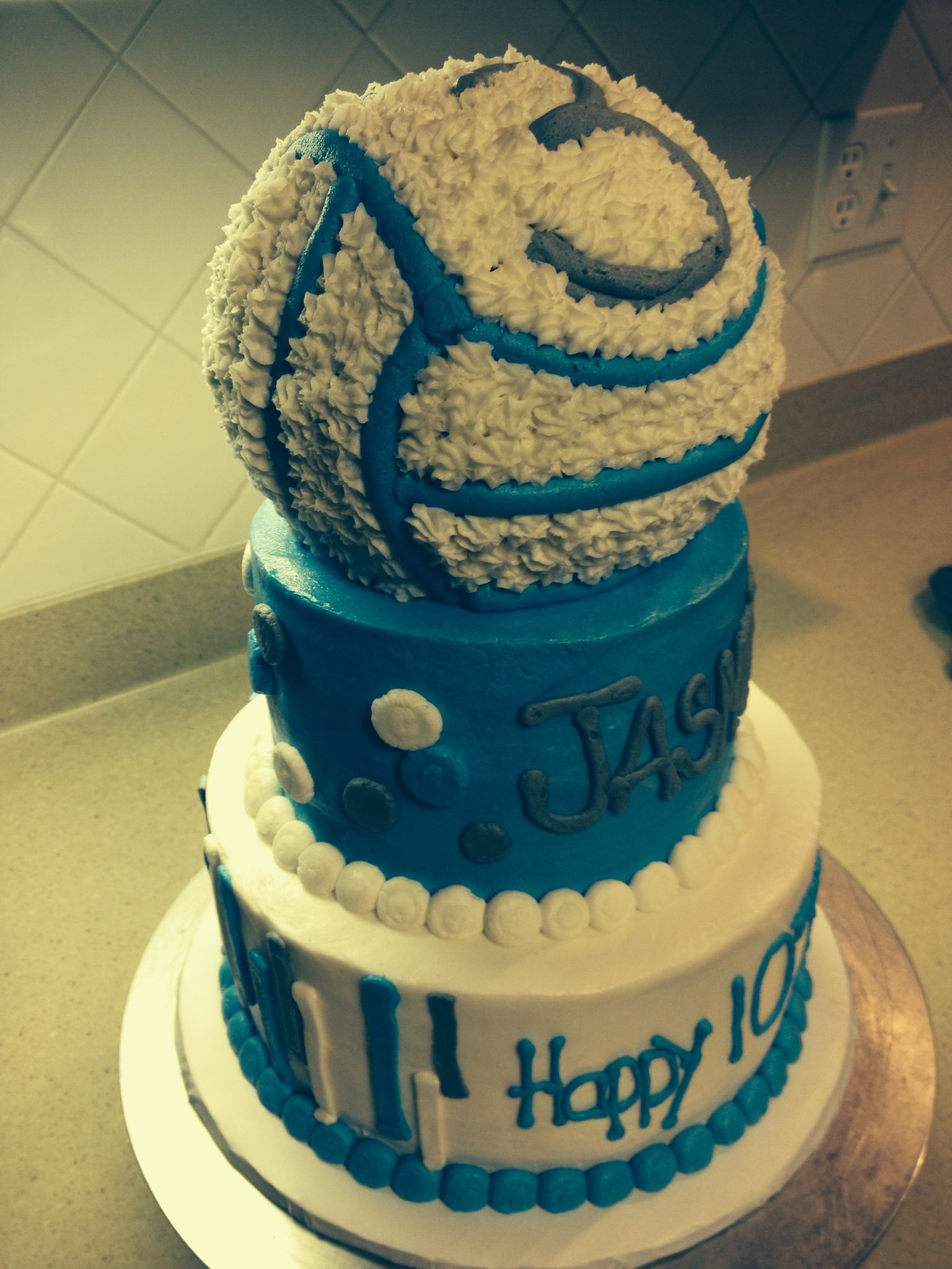 Mitzi Dulan America S Nutrition Expert Blog For Health Volleyball Cakes Sports Themed Cakes 13 Birthday Cake