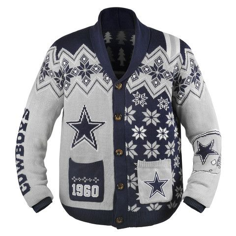 Awesome ugly cowboys cardigan from uglyteams.com | 2014 NFL Ugly ...