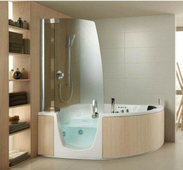 douche à l'italienne : 31 exemples salles de bain italienne ... - Salle De Bain Avec Douche Italienne Et Baignoire
