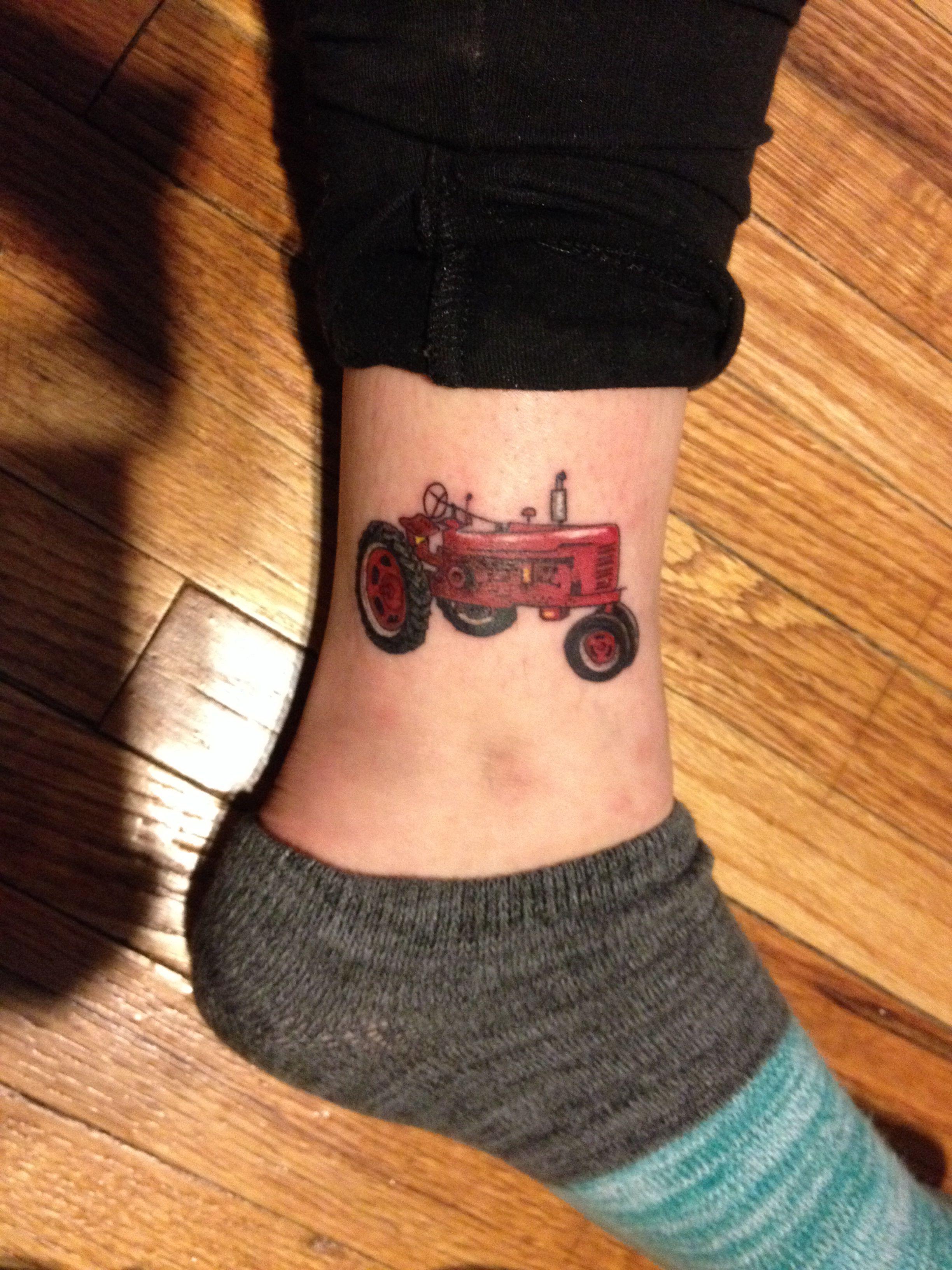 International Tractor Tattoo Designs : Farmall h tractor tattoo pinterest