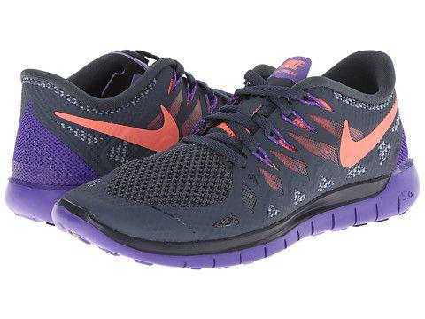 Nike Nike Free 5.0 '14 Dark Magnet Grey/Hyper Grape/Bright Mango -