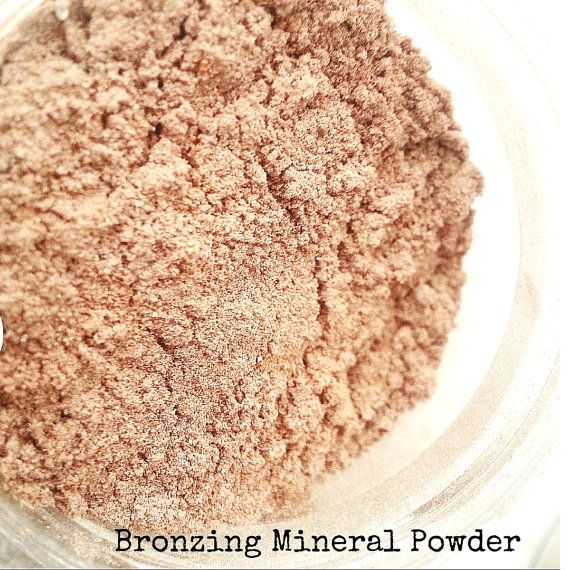 Mineral Makeup Set of 3 finishing powder by ecoluxecosmetics