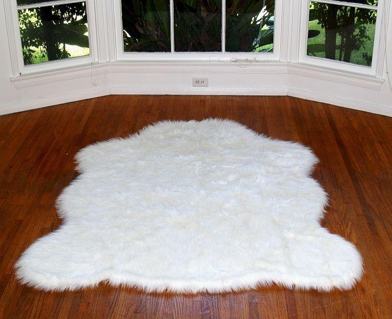 Love Rugs Faux White Arctic Polar Bear Rug 69 00 Http Www Hollywoodloverugs Fur Fake