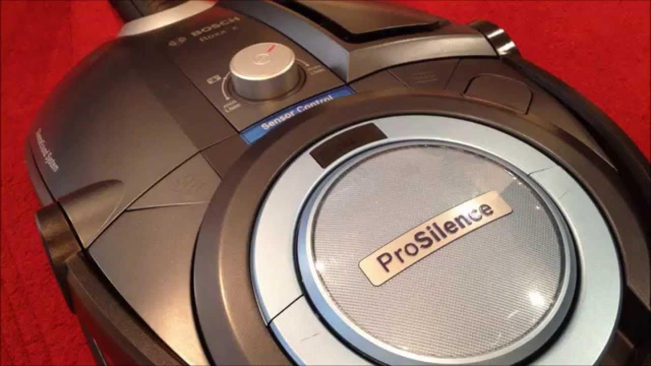 Bosch Bagless Roxx X Pro Silence Bosch Vacuum Cleaner Silence