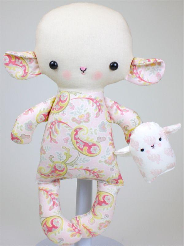 Bit of Whimsy Dolls | Lamb Baby PDF Pattern
