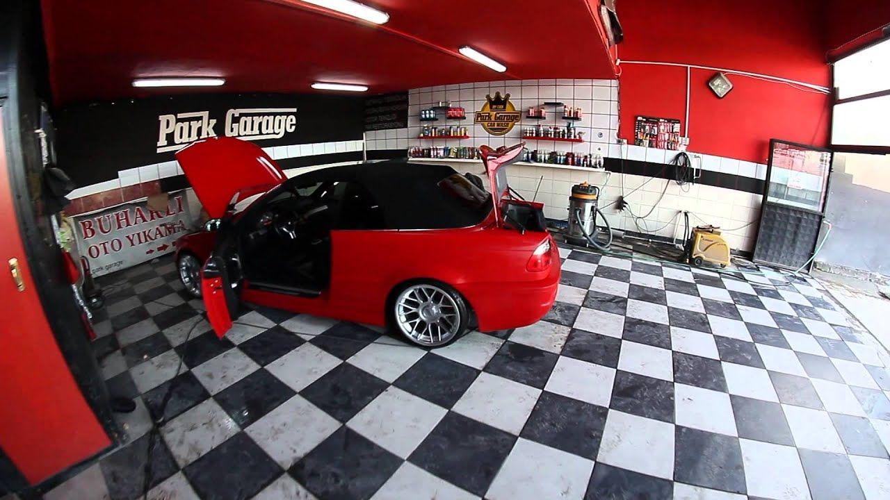 Bmw E46 Cabrio Boya Koruma Uygulamasi 06vft14 Hellrot Red