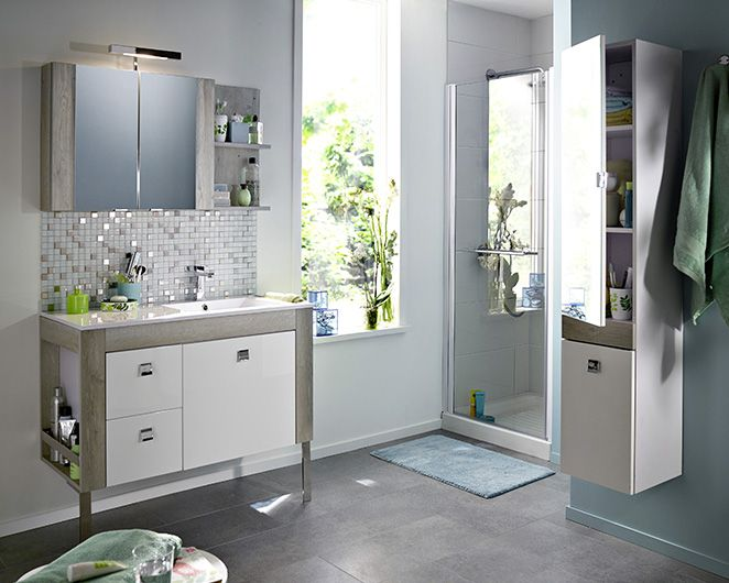 meuble de salle de bain amazon pas cher