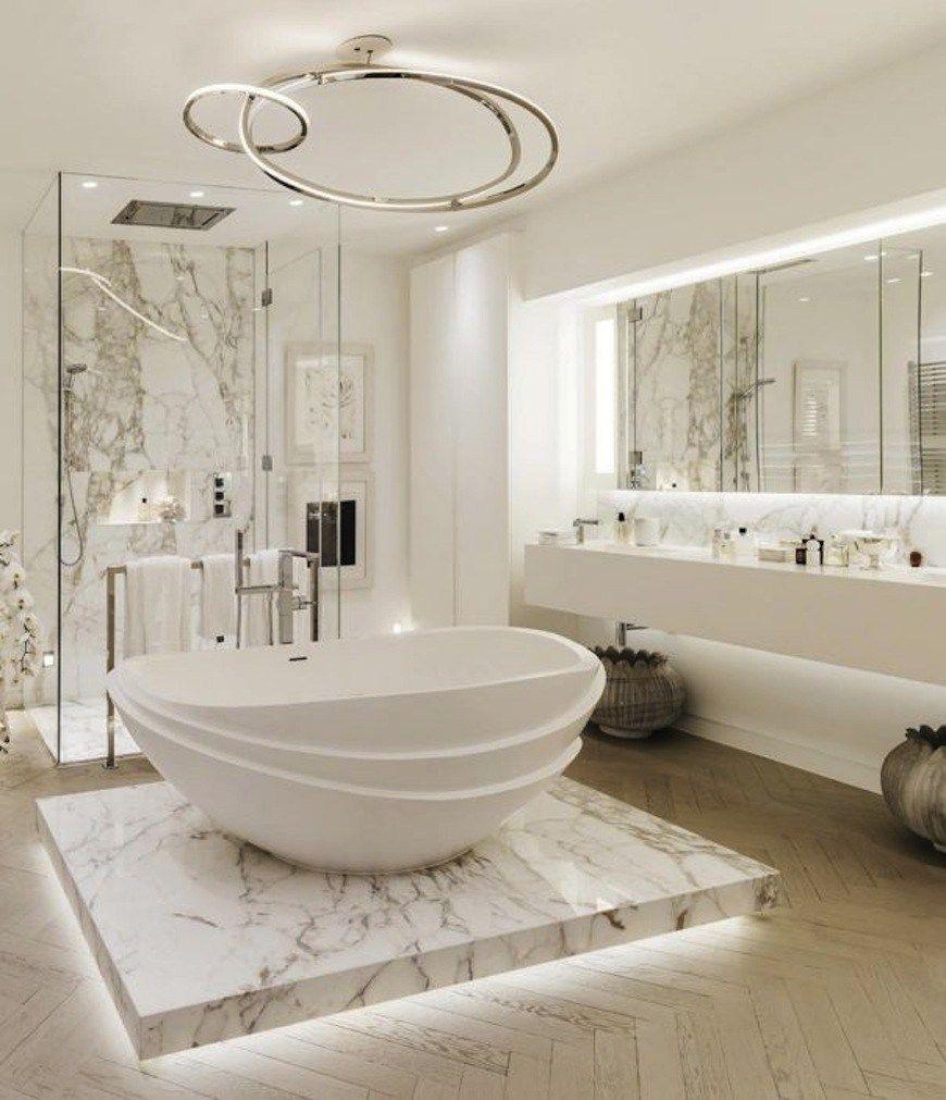 Luxurious marble bathroom designs (14 | Bathroom designs, Marbles ...