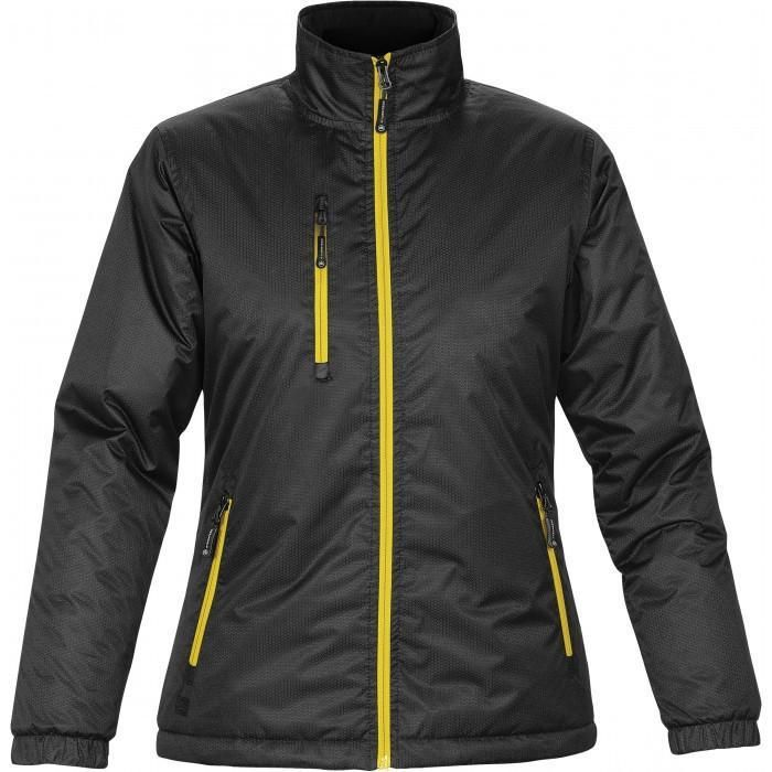 Speed and Strength Womens Womens Double Take Black Textile//Leather Jacket 884306
