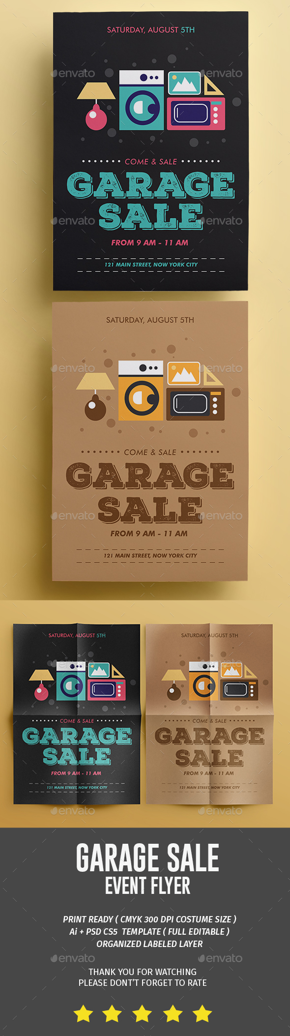 Garage Sale Flyer | PD YGYB | Pinterest | Ventas y Bazares