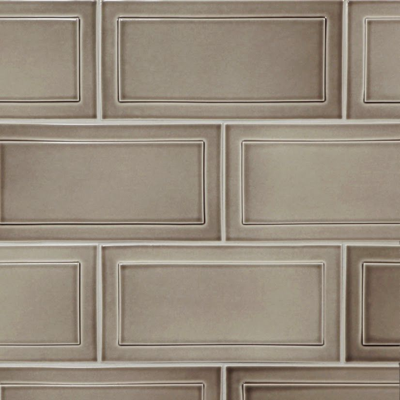 The new 6x12 Recessed Frame Tile from Pratt and Larson Ceramics ...