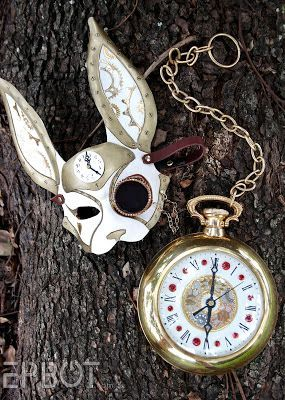 Down The Rabbit Hole pocket watch & Down The Rabbit Hole pocket watch | Damonu0027s first Birthday (Alice in ...