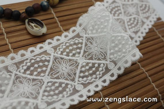 We will start selling at this new place on Dec 1st, 2016! https://www.zengslace.com  Come and visit us at the new facebook page at https://www.facebook.com/zengslace  ----------------------------------------------------------------------------- This ribbon is about 2 1/2 inches wide, priced for 1 yard.  Want to buy a swatch? Check out our swatch service here! https://www.etsy.com/listing/488135329  ---------------------------------------------...