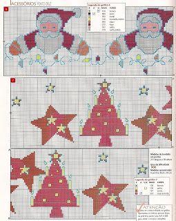 100%_ponto_cruz: Natal