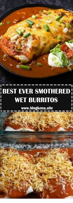 Best Ever Smothered Wet Burritos  #authenticmexicansalsa
