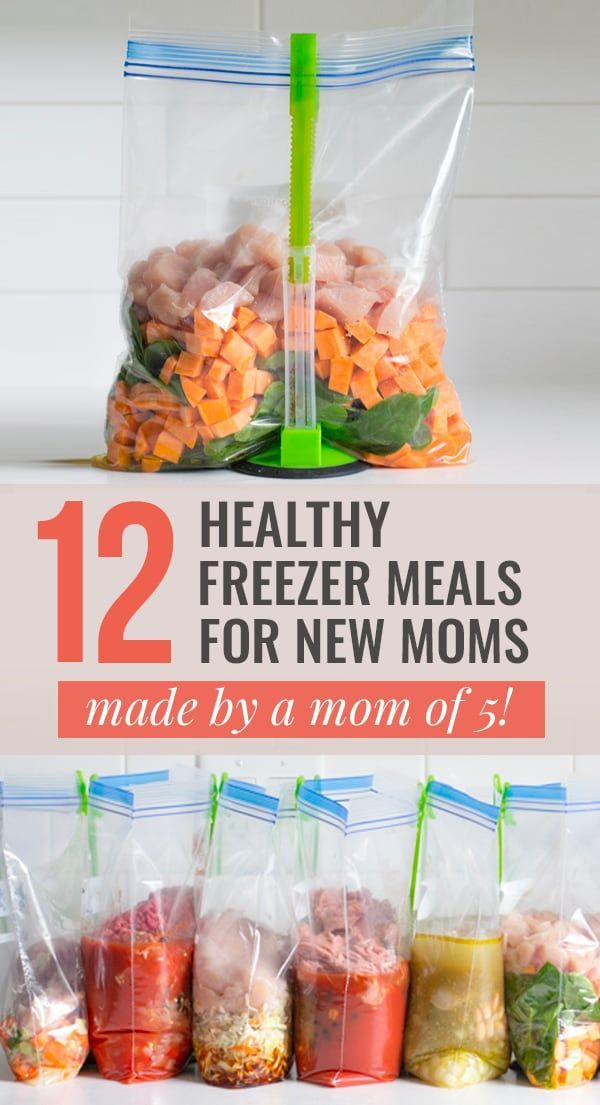 12 Healthy Freezer Meals for New Moms – Carey&CleanEatingS