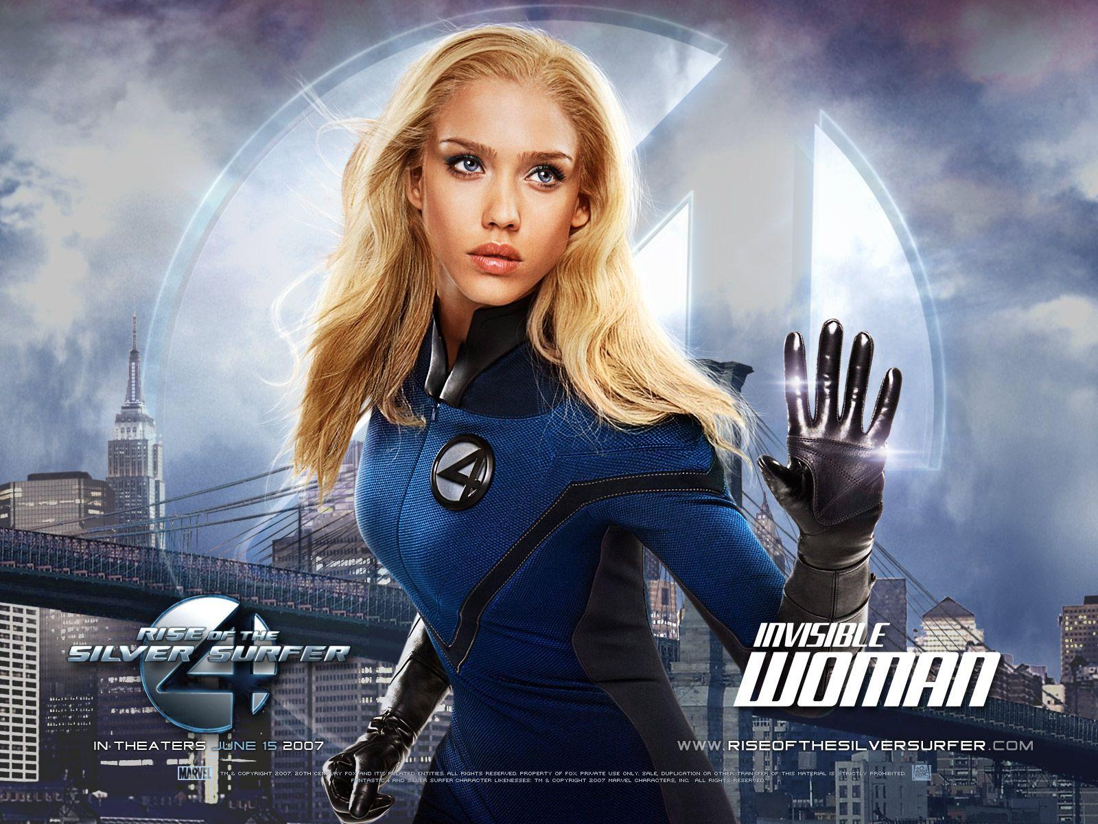 Jessica Alba In Fantastic Four Rise Of The Silver Surfer