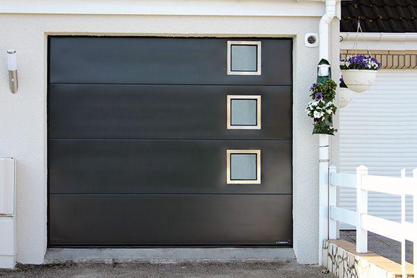 Porte-de-garage-sectionnelle-vitrée-villa-sgdiffusion-installateur
