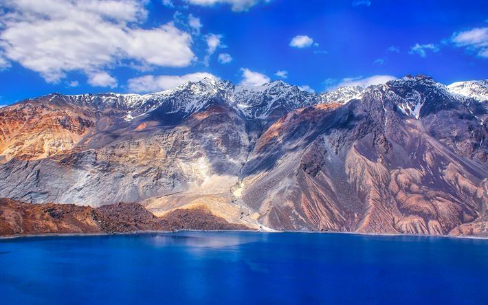 Scarica Sfondi Sarez Lago 4k Le Montagne Il Pamir Tagikistan Mountains Landscape Wallpaper Landscape
