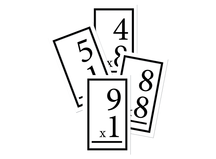 Fellowes Idea Center Multiplication Flashcards Flashcards Math Multiplication