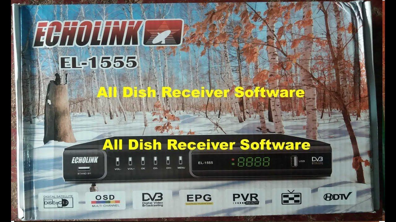 ECHOLINK EL 1555 HD RECEIVER AUTO ROLL BISS KEY NEW SOFTWARE