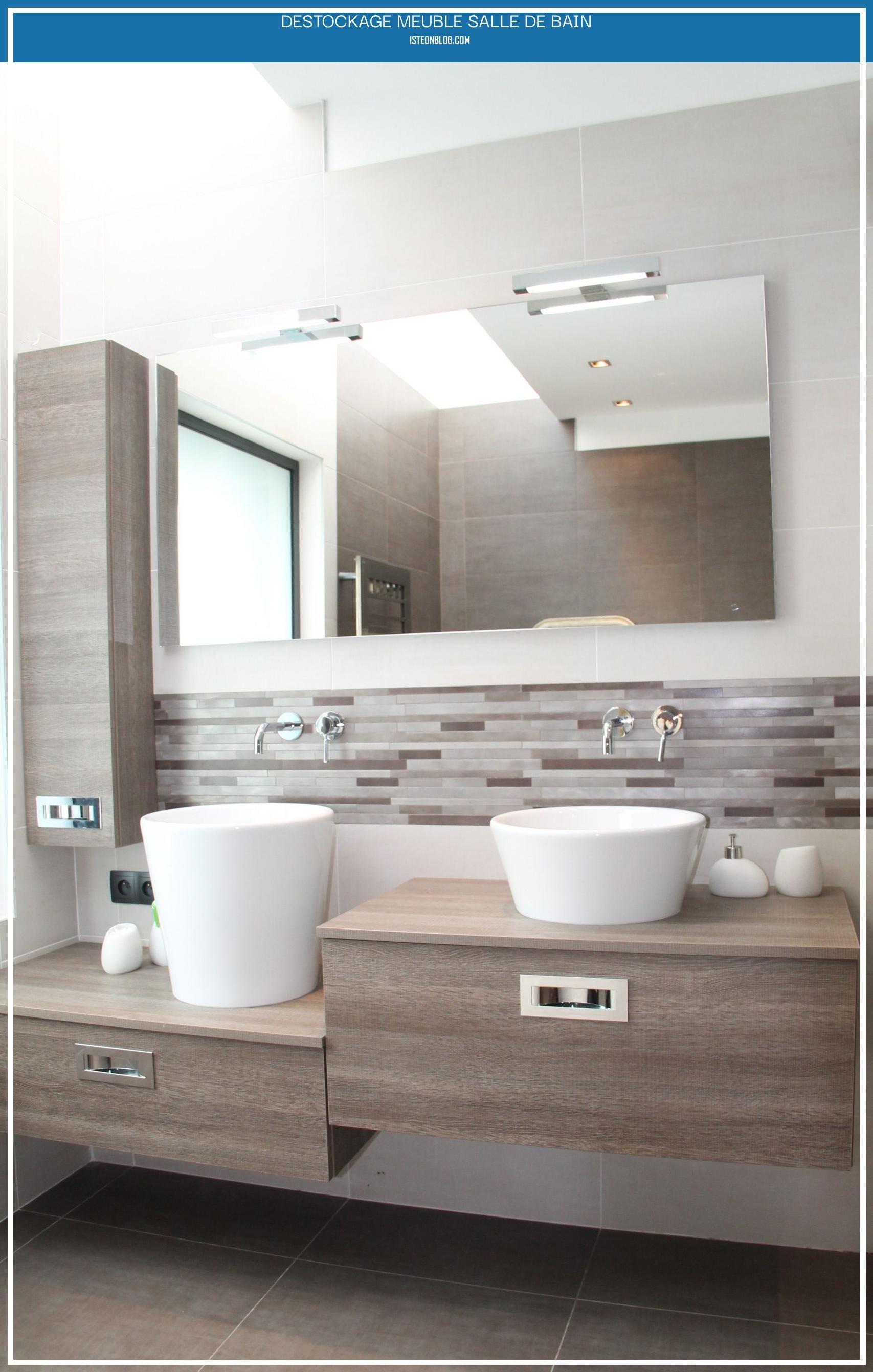 Destockage Meuble Salle De Bain En 2020 Meuble Salle De Bain Mobilier Salle De Bain Meuble Sous Lavabo