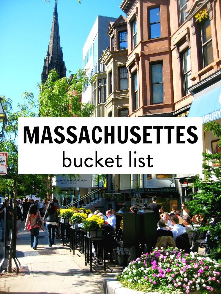 Our Things To Do In Massachusetts Bucket List With Images