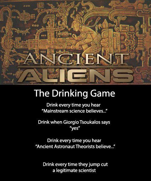 Pin By B Morrows On Random Geekerie Fun Quotes Funny Drinking Games Ancient Aliens