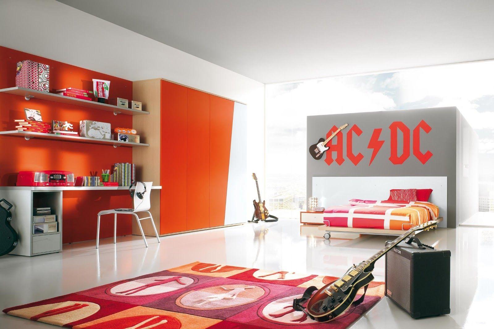 Habitaciones Para Rockeros Buscar Con Google Habitaciones  ~ Decoracion De Dormitorios Para Mujeres