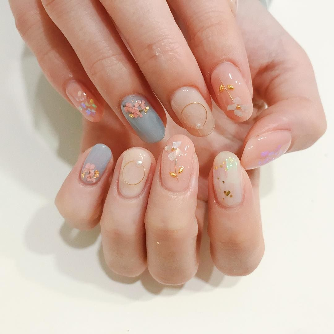 Koreannailart Asian Nails Korean Nail Art Soft Nails