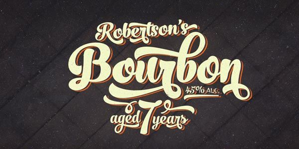 No seven vintage style script font family by fenotype