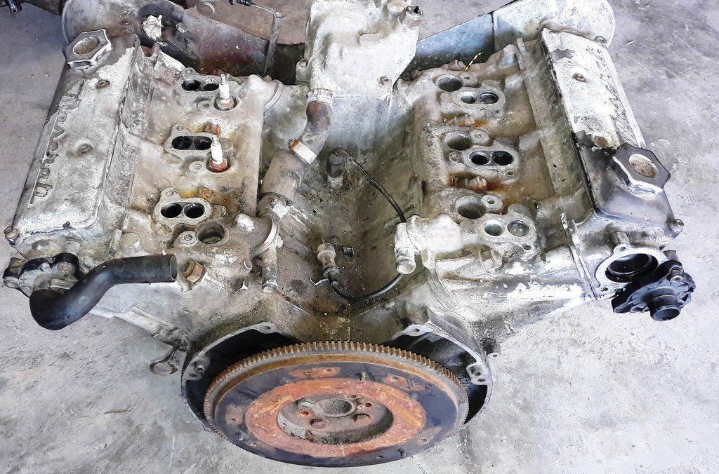 Maserati Biturbo E Bare Engine Am 453 Am453 2 5 Petrol Carburetor 18v Maserati Biturbo Engineering Maserati
