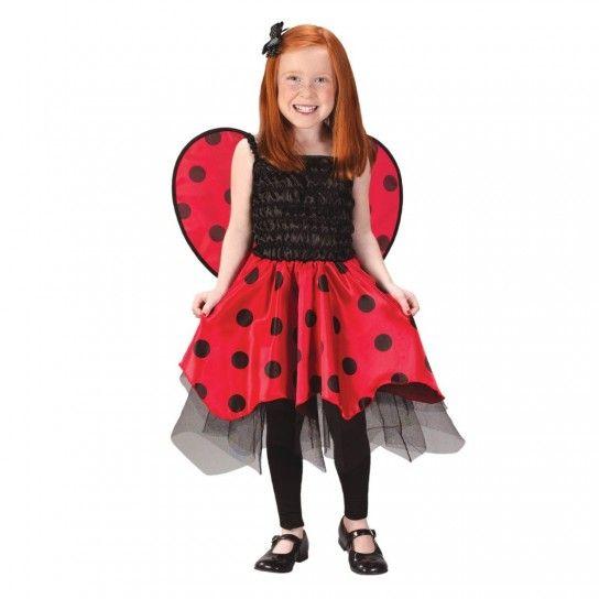 Disfraz de mariquita para niña  Cómo hacerlo  FOTOS   1b973cd1b67