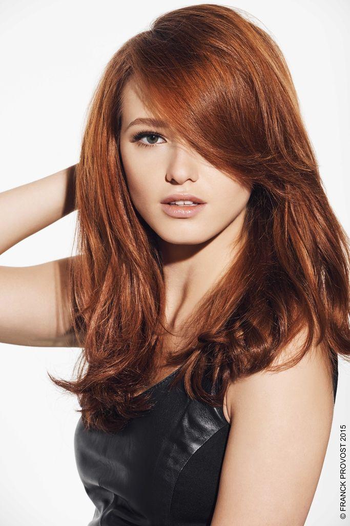 Zhanna, rousse flamboyante. Du blond vénitien au roux