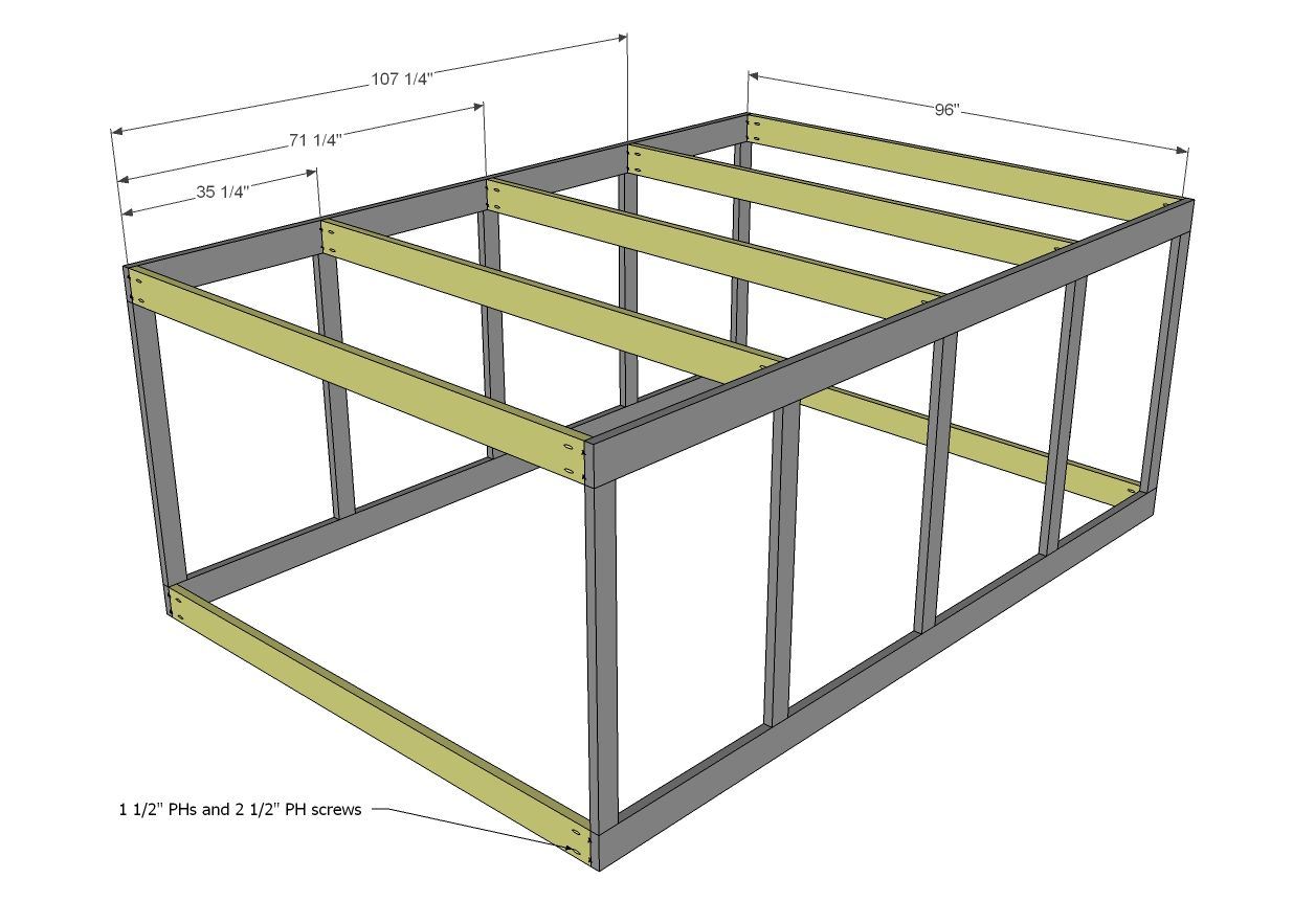 Ana white build a chicken coop run for shed coop free for Chicken run plans
