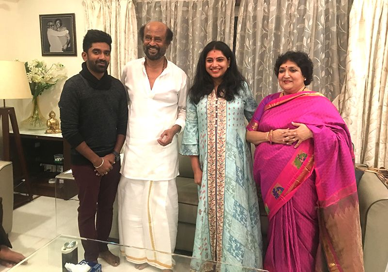 Music director Dharan's unforgettable birthday gift of meeting Superstar Rajinikanth