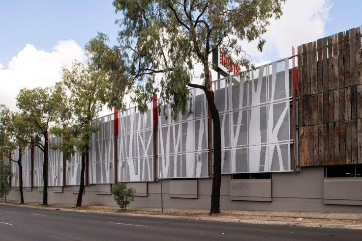 Perforated Metal Graphic Google Search Metal Facade