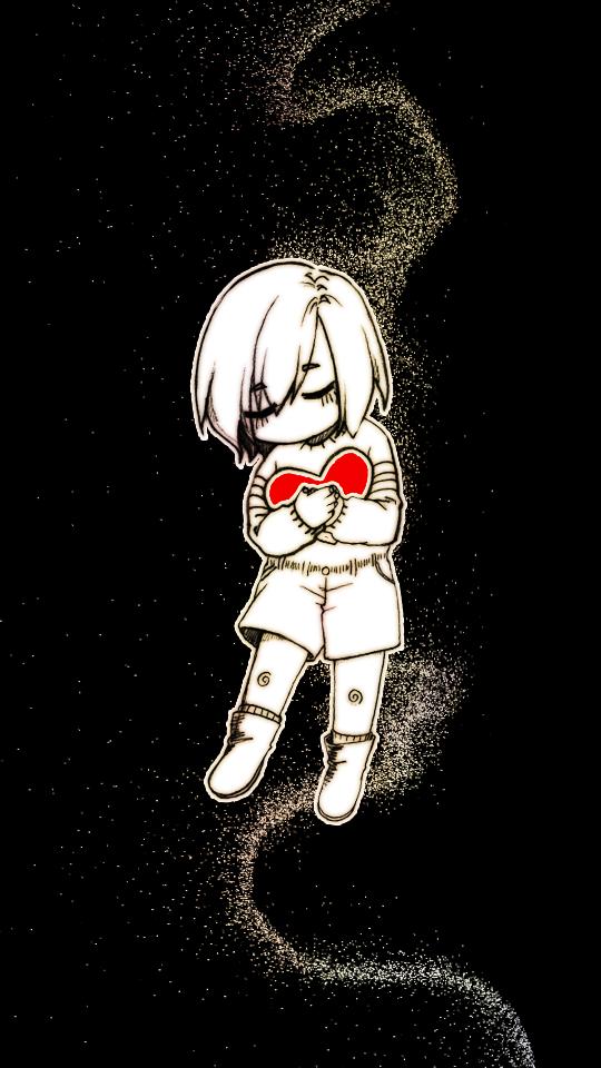 [언더테일] 프리스크 폰 배경화면 배경화면, 짧은 만화, 만화