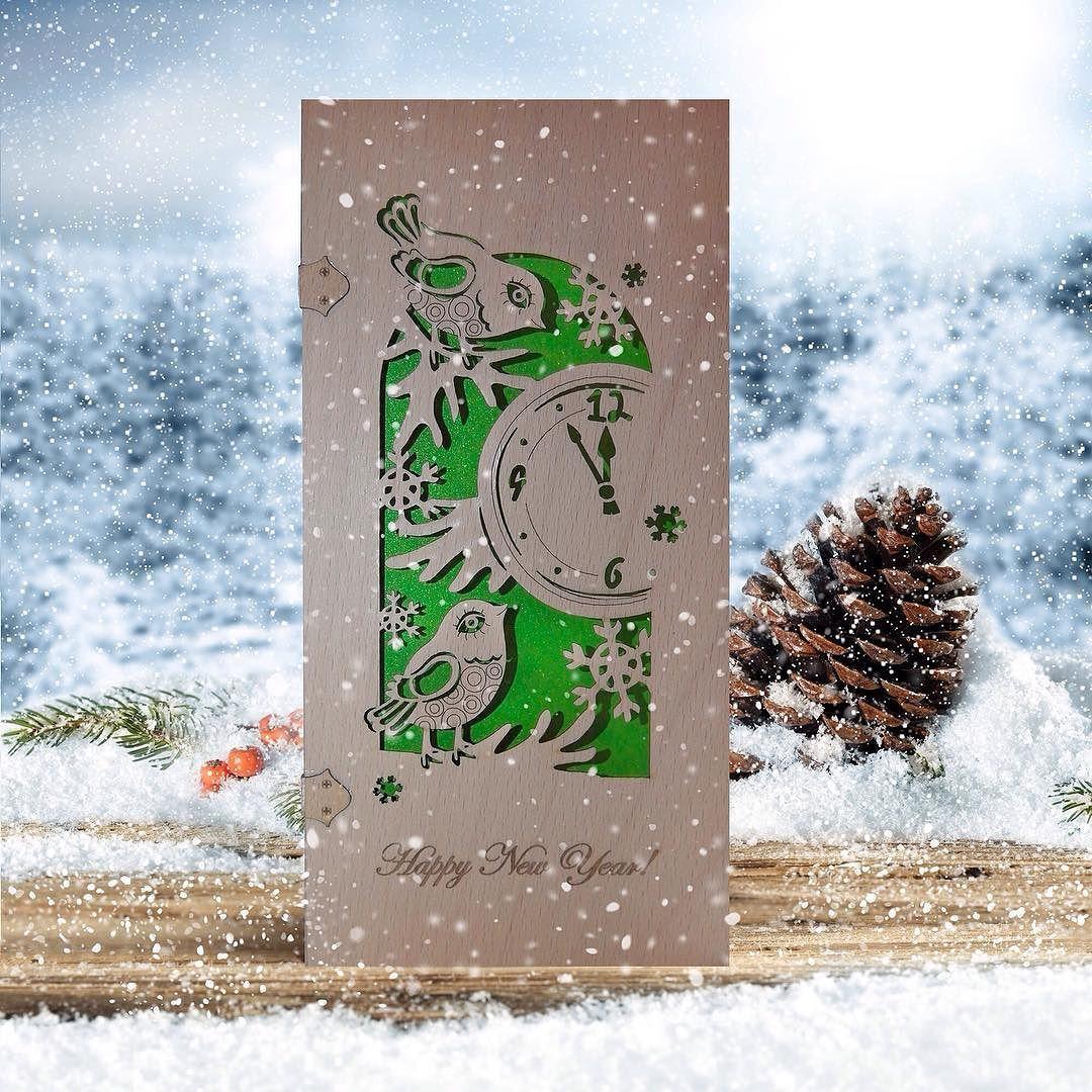 готовые открытки с новым годом дизайнерские