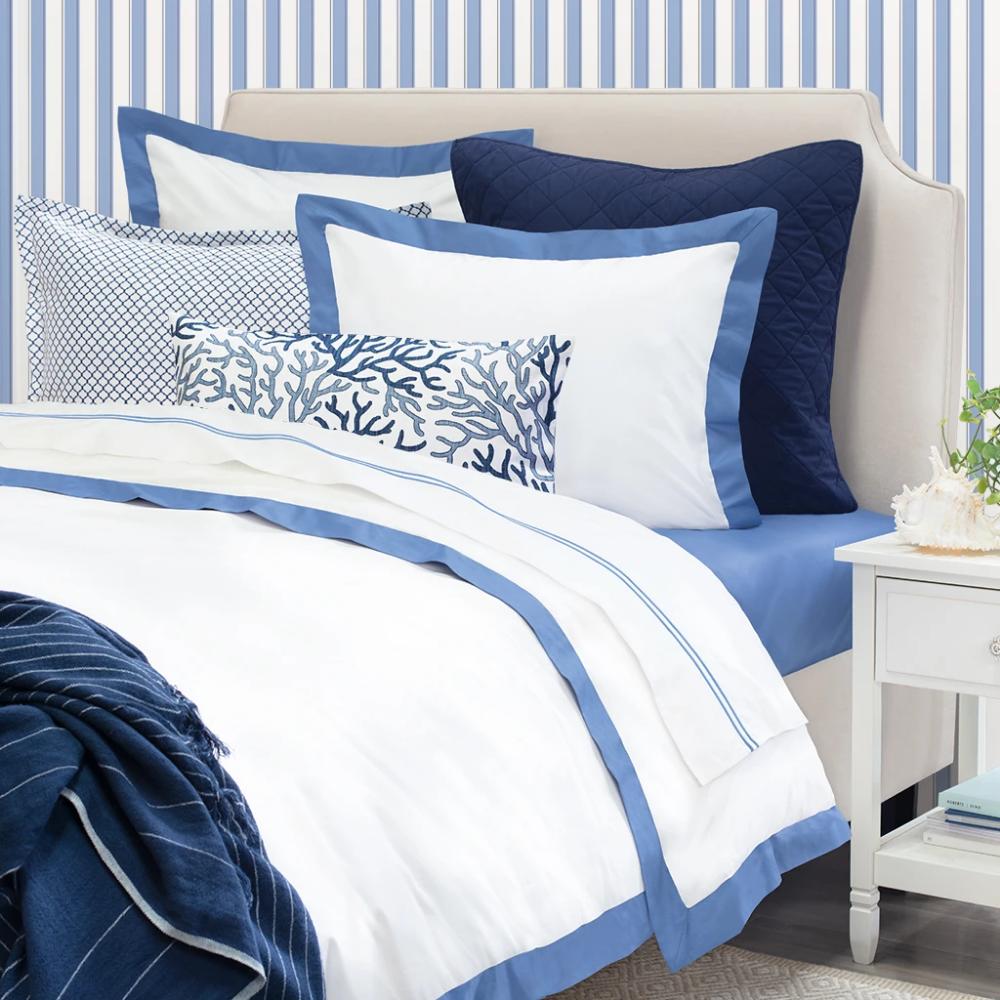 Capri Blue And White Duvet Cover Capri Blue Linden Crane Canopy Blue And White Bedding Blue And White Pillows Blue Duvet Cover Blue and white duvet covers